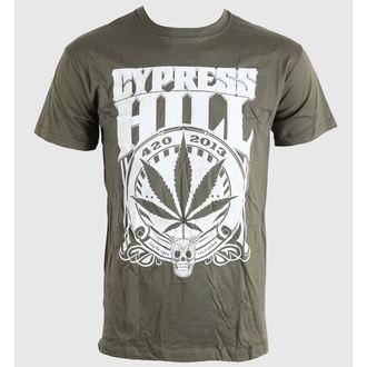 t-shirt metal uomo unisex Cypress Hill - 420 2013 - BRAVADO EU, BRAVADO EU, Cypress Hill