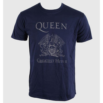 t-shirt metal uomo unisex Queen - Greatest Hits II - ROCK OFF, ROCK OFF, Queen