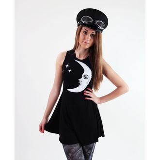 vestito donna KILLSTAR - Moonchild - Nero - KIL231