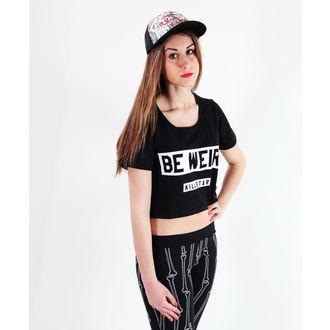 t-shirt donna unisex - Be Weird Crop - KILLSTAR, KILLSTAR