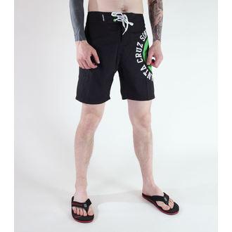 costume da bagno uomo (pantaloncini) SANTA CRUZ - Circolare - BLACK, SANTA CRUZ