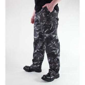 pantaloni uomo MIL-TEC - US Ranger Hose - Nero Digitale, MIL-TEC
