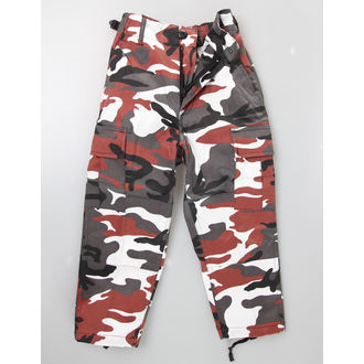pantaloni bambino MIL-TEC - US Hose - Red Camo, MIL-TEC