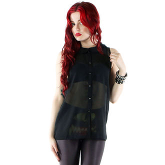 camicia donna IRON FIST - Smidollato Pietro Mr. Collare - Nero, IRON FIST