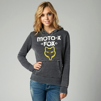 felpa con capuccio donna - Moto X PO - FOX, FOX