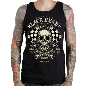 Canotta da uomo BLACK HEART - STARTER - NERO, BLACK HEART