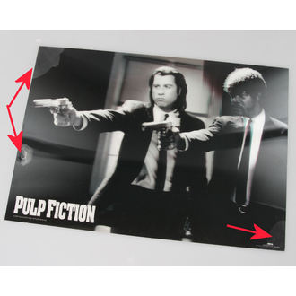 immagine 3D Pulp Fiction - Guns - Pyramid Posters - PPL70097, PYRAMID POSTERS