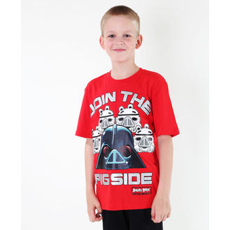 t-shirt film uomo bambino Angry Birds - Angry Birds / Star Wars - TV MANIA, TV MANIA