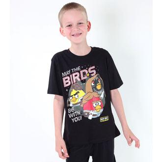 t-shirt film uomo bambino Angry Birds - Angry Birds / Star Wars - TV MANIA - SWAB 323