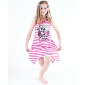 vestito donna TV MANIA - Monster High - Bianco / Rosa, TV MANIA