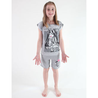 pantaloncini donna TV MANIA - Monster High - Grigio, TV MANIA, Monster High