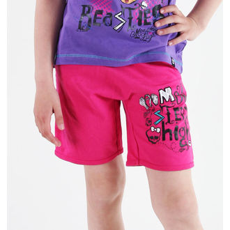 pantaloncini donna TV MANIA - Monster High - Pink, TV MANIA