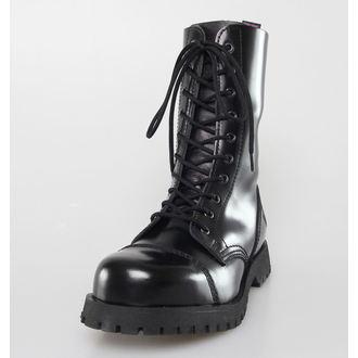 scarpe NEVERMIND - 10 fori - Nero Polido, NEVERMIND