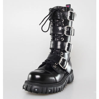 scarpe NEVERMIND - 14 fori - Polido Nero, NEVERMIND
