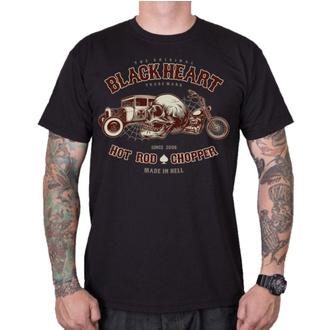 t-shirt street uomo - REVELATION - BLACK HEART, BLACK HEART