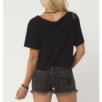 t-shirt street donna bambino - TOMAHAWK CROP - METAL MULISHA, METAL MULISHA