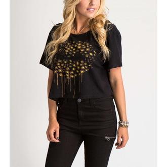 t-shirt street donna bambino - FELINE CROP - METAL MULISHA, METAL MULISHA