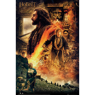 poster Lo Hobbit - Desolazione of Smaug Fire - GB posters, GB posters