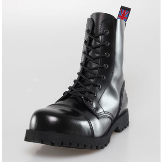 scarpe NEVERMIND - 8 fori - Nero Polido, NEVERMIND