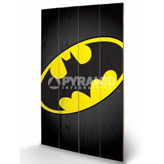 in legno immagine DC Comics - Batman Symbol - PYRAMID POSTER, PYRAMID POSTERS