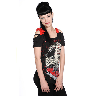 t-shirt donna unisex - Bird In Skeleton Cage - BANNED, BANNED