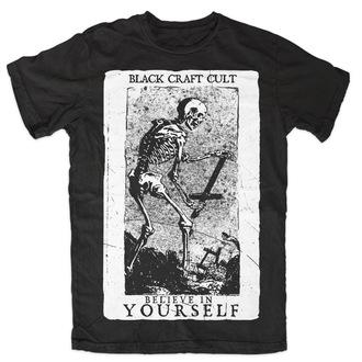 t-shirt uomo donna unisex - Believe In Yourself - BLACK CRAFT