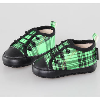 scarpe da ginnastica basse bambino - Black/Green - LITTLE DIAMOND - 59137-011, LITTLE DIAMOND