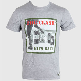 t-shirt metal uomo donna unisex Clash - HITS BACK - LIVE NATION, LIVE NATION, Clash