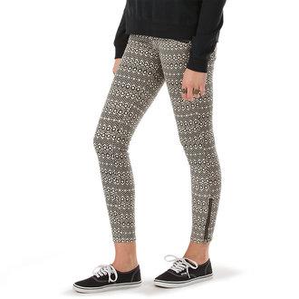 pantaloni donna VANS - Moto Skinny Denim - Creme, VANS