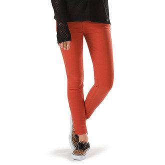 pantaloni donna VANS - Moto Skinny Denim - Ketchup, VANS