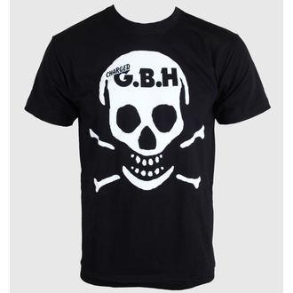 t-shirt metal uomo donna unisex G.B.H. - Skull - CARTON - K_508