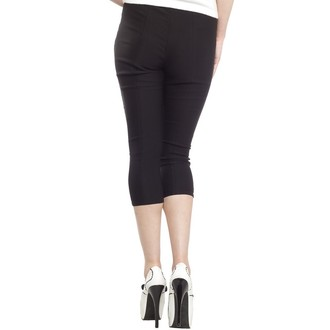 pantaloni 3/4 donna SOURPUSS - Sugar Torta - Nero, SOURPUSS