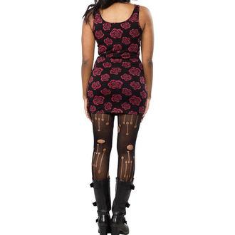 vestito donna SOURPUSS - Omni Roses Tank - Nero, SOURPUSS