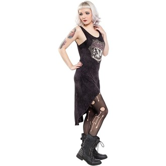 vestito donna SOURPUSS - Hi Low Omni - Nero, SOURPUSS