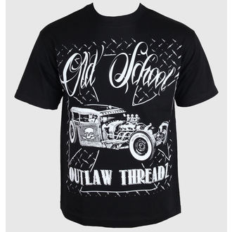 t-shirt uomo donna unisex - Old School - OUTLAW THREADZ, OUTLAW THREADZ