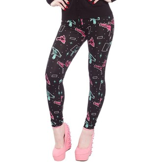 pantaloni (leggings) donna SOURPUSS - Ray Guns - Nero, SOURPUSS