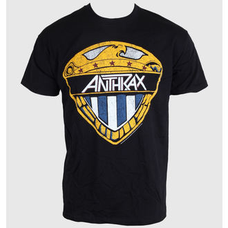 t-shirt metal uomo donna unisex Anthrax - Eagle Shield - ROCK OFF, ROCK OFF, Anthrax