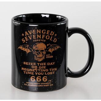 tazza Avenged Sevenfold - Il Giorno - Nero - ROCK OFF, ROCK OFF, Avenged Sevenfold