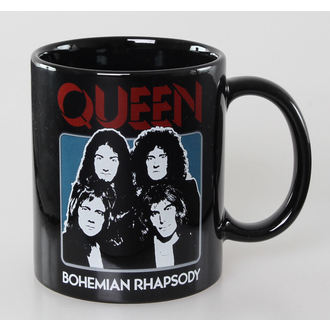 tazza Queen - Bo Rhap - Nero - ROCK OFF, ROCK OFF, Queen