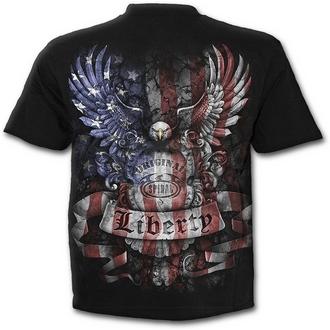 t-shirt uomo donna unisex - LIBERTY USA - SPIRAL