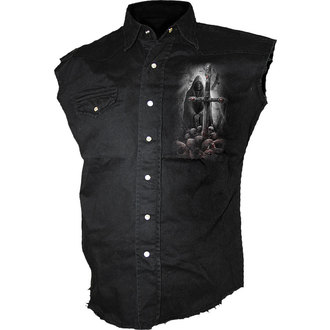 camicia uomo senza senza maniche SPIRAL - SOUL Ricercatore, SPIRAL