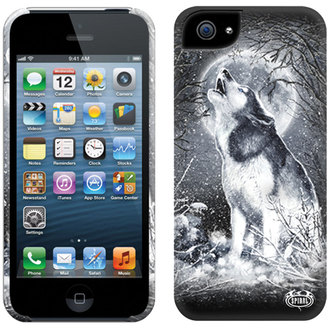 custodiper per cellulperre SPIRAL - BIANCO WOLF - IPHONE, SPIRAL