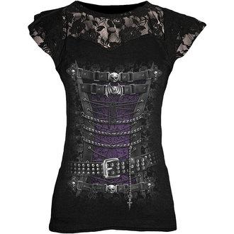 t-shirt donna unisex - WAISTED CORSET - SPIRAL - T085F721