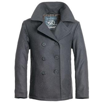cappotto maschile invernale Brandit - Pisello Coat - Antracite, BRANDIT