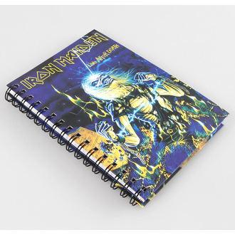 quaderno quaderno Iron Maiden, NNM, Iron Maiden