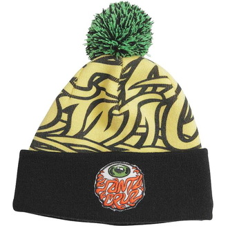 beanie SANTA CRUZ - Eyeball Bobble - Giallo/Nero, SANTA CRUZ