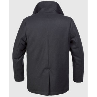 cappotto maschile invernale Brandit - Pisello Coat - Nero, BRANDIT