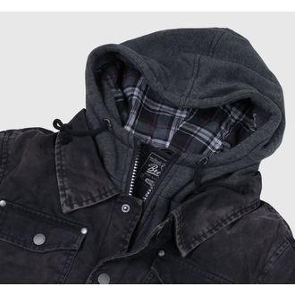 giacca invernale uomo - Dayton - BRANDIT - 3139-black