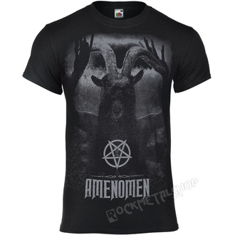 t-shirt hardcore uomo - UNDER THE UNSACRED MOONLIGHT - AMENOMEN, AMENOMEN