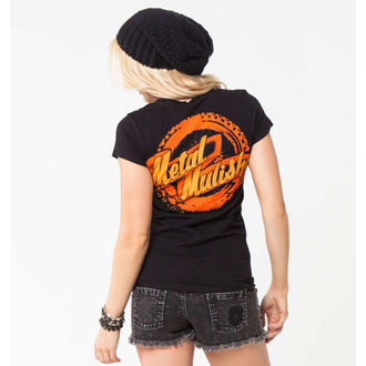 t-shirt street donna - MOTO CLUB - METAL MULISHA, METAL MULISHA